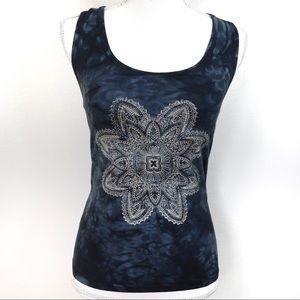 Y133 Pink Lotus for Athleta Yoga Tye Dye Workout
